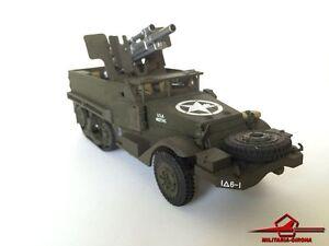 Schuco Military Car M3 Gun Car Car Blinded Car Car - Voiture   1944 Échelle 1:43