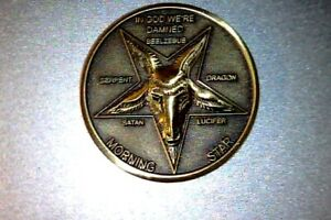 Lucifer-Morning-Star-High-Quality-Detail-1-1-4-034-Solid-Brass-3D-Coin-31-75MM