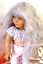 OUTLET-Custom-American-Girl-doll-Wig-034-Gray-Love-034-Fits-most-18-039-039-dolls-Blythe-OG thumbnail 1