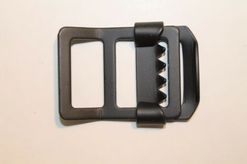 "Military Web Strap Tongueless Buckle Military Jeep Black 1/"" 6 ea Mil-Spec"