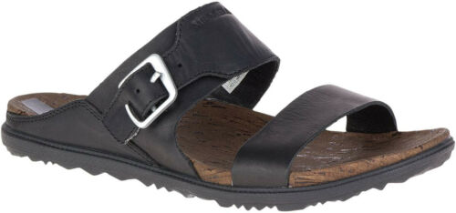 Town Buckle Sandalo Womens Merrell Nero Slide Around 1AAnRqfS