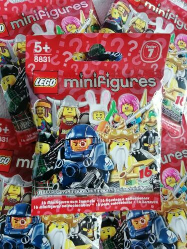 LEGO Minifigures Series 7 BRAND NEW Unopened Tennis Jungle Hippie Viking