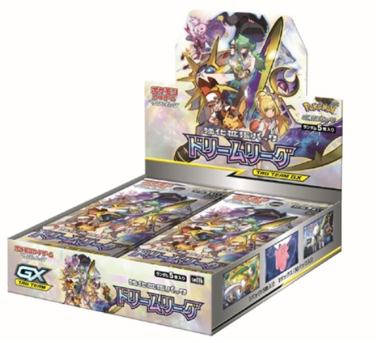 Pokemon Card Game Sun & Moon Expansion Pack Dream League BOX Japan import NEW