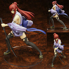 "Anime Fairy Tail Erza Scarlet 20cm/8"" 1/7 Scale Pre-Painted PVC Figure Toys Gift"