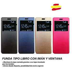 FUNDA-FLIP-COVER-TIPO-LIBRO-PARA-BQ-AQUARIS-X5-CON-IMAN-Y-VENTANA