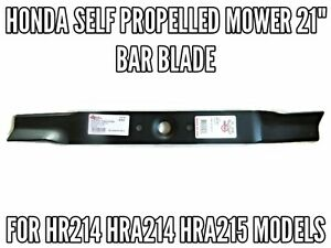 HONDA-SELF-PROPELLED-MOWER-21-BAR-BLADE-HR214-HRA214-HRA215-MOWER-BLADES