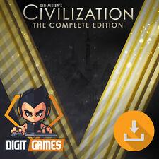 Civilization V 5 Complete Edition / PC & Mac Game - New / Civ / Strategy