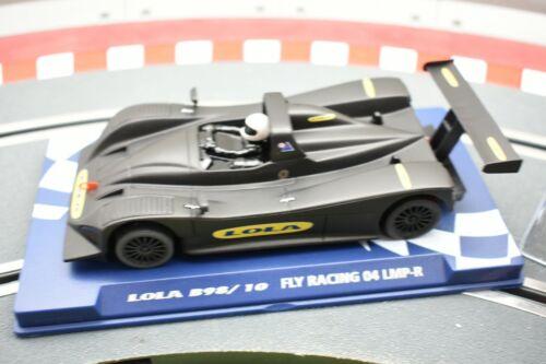 07069 FLY CAR MODEL 1//32 SLOT LOLA B98//10 FLY RACING 2004 LMP-R FLY 52