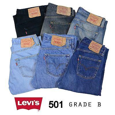 VINTAGE LEVIS 501 JEANS CLASSE B W29 W30 W32 W34 W36 W38 501 LEVI 501s