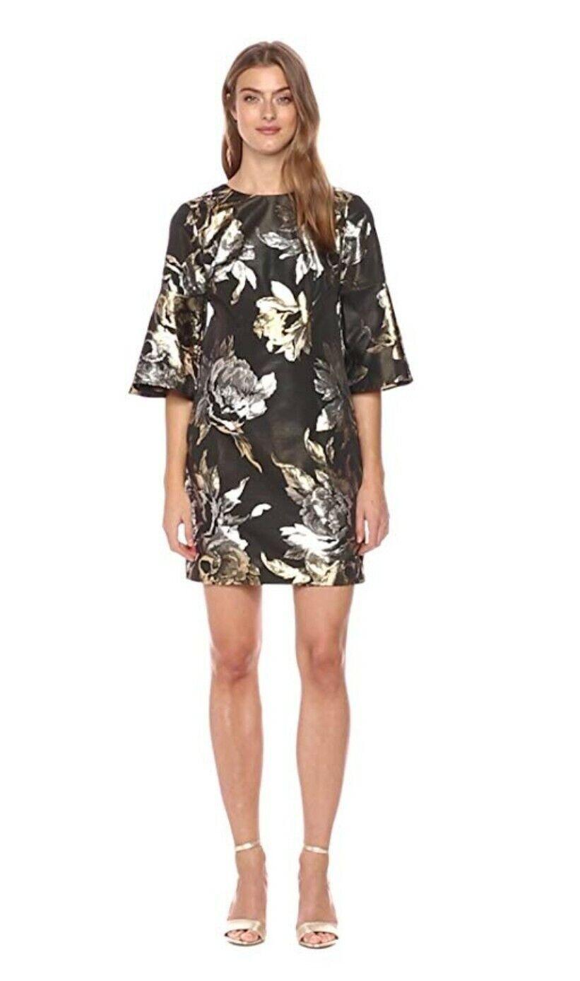 Trina Turk Rachelle Taille Robe 10 Nouveau