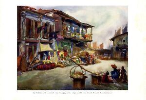 Chinesenviertel-in-Singapur-XL-Kunstdruck-1927-von-Franz-Kienmayer-amp-Wien