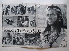 Winnetou Pierre Brice Tommy Bolin Purple Sweet Guru Guru clippings Germany 1970s