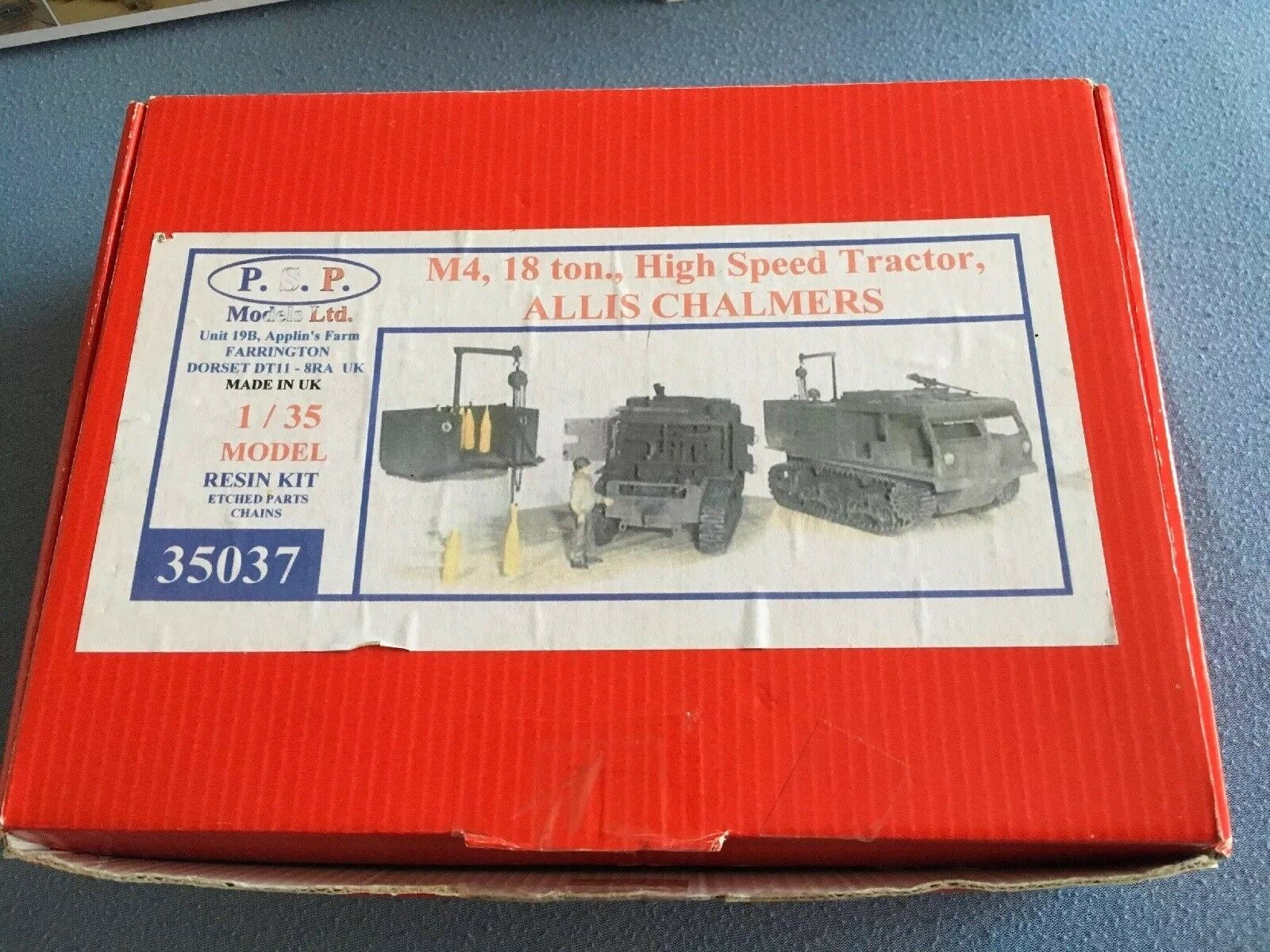 M4 18 Ton.,High Speed Tractor,Allis Chalmers Resin Kit