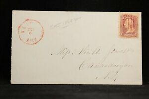 Michigan-Clifton-2-1864-circa-65-Cover-Red-CDS-DPO-Keweenaw-Co
