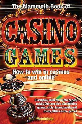 1 of 1 - Mendelson, Paul, The Mammoth Book of Casino Games (Mammoth Books), Very Good Boo