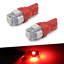 10-pack RED T10 Wedge Bulb LED for Malibu 12V AC//DC Landscape Light