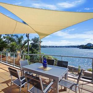 Vele ombreggianti TRIANGOLARI tenda PARASOLE ombra giardino balcone terrazzo