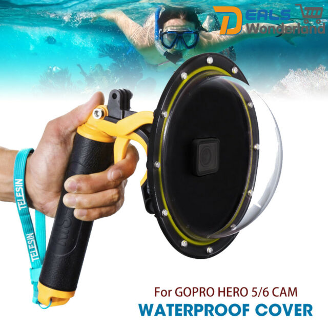 Underwater Diving Dome Port Handheld Camera Case Cover fit GoPro Hero 6 / 5 Cam