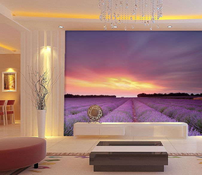 3D Sunset Garden 39 WallPaper Murals Wall Print Decal Wall Deco AJ WALLPAPER