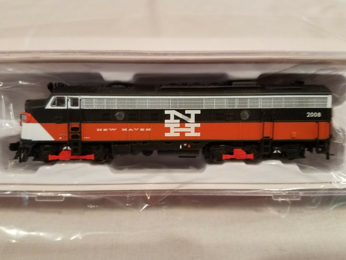 N SCALE RAPIDO TRAINS 15511 EMD FL9 NH EDER-5 DCC SOUND EQUIPPED NEW