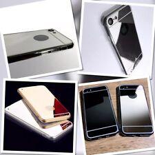 Original Apple iPhone 7 Case 4.7 Screen Model Hybrid Tech Prestige Mirror Silver