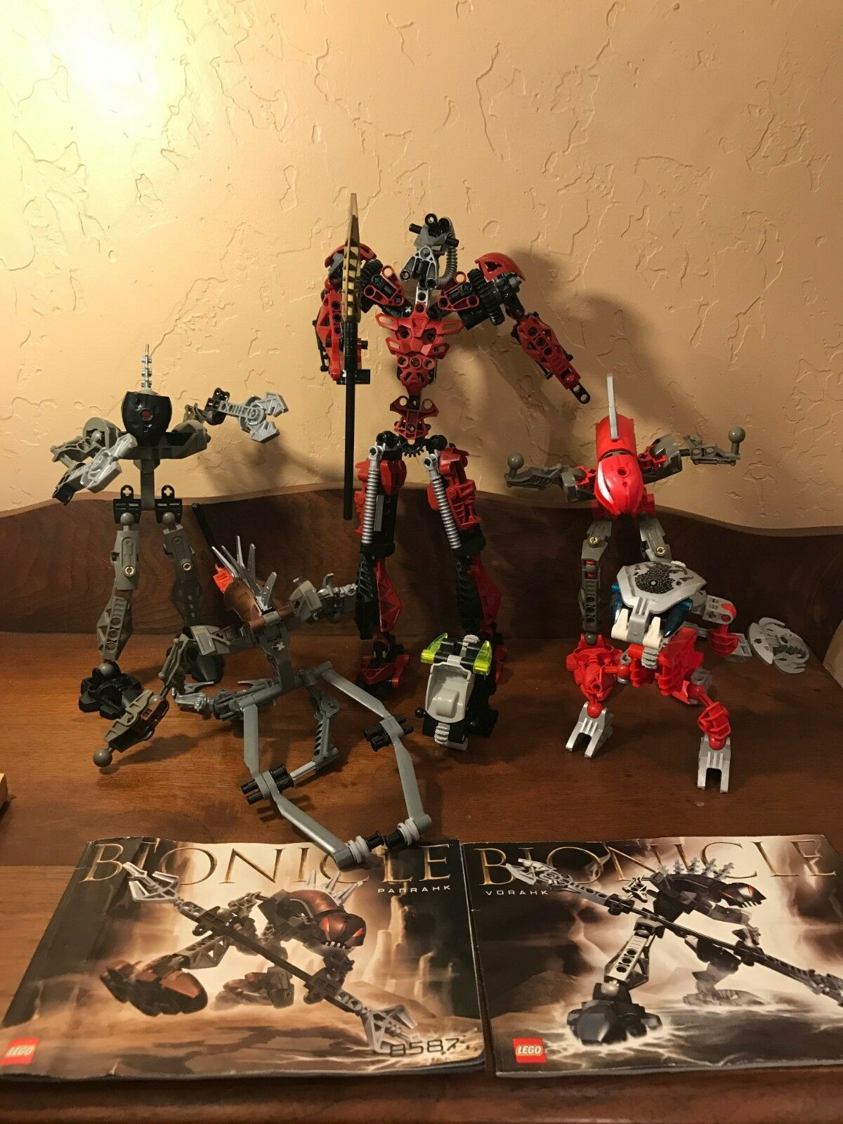 Bionicles Lot 2 instruction booklets 2003