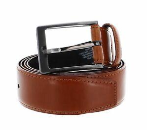 Calvin Klein Basic Leather Belt W105 Gürtel Accessoire Cognac Braun