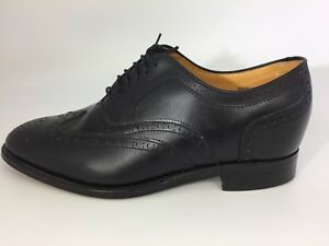 Wingtip Taille Oxfords 11 5 Ascenseur In Noir Hommes England Made Ee Chaussures qMpzSLUVG