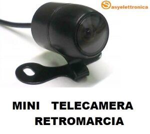 Mini Telecamera Per Retromarcia E Ad Infrarossi Ccd Con Staffa X
