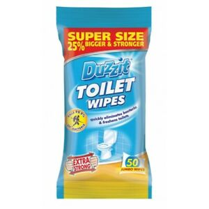 50-Pack-Jumbo-Toilet-Wipes-by-Duzzit-Extra-Strong-Super-Size-Large
