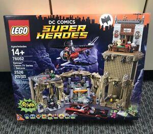 LEGO-76052-DC-COMICS-SUPER-HEROES-BATMAN-CLASSIC-TV-SERIES-BATCAVE-NISB-RETIRED