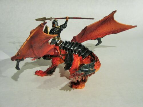 Drago Cavaliere SCHLEICH 70100 Fantasy-Cavalieri personaggio World of cronologia