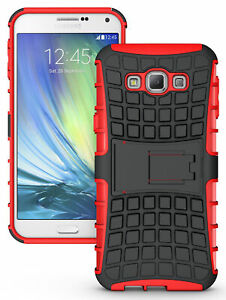 RED-GRENADE-GRIP-RUGGED-TPU-SKIN-HARD-CASE-COVER-STAND-FOR-SAMSUNG-GALAXY-A8