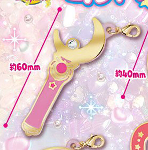 Sailor Moon Moon Stick Fastener Accessory Metal Charm NEW