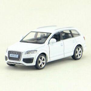 1-36-Audi-Q7-V12-SUV-Die-Cast-Modellauto-Auto-Spielzeug-Model-Sammlung-Weiss