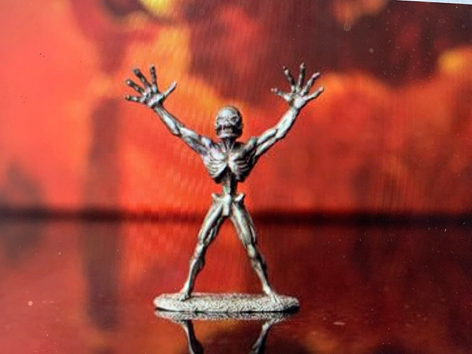 Doom Reaper Arch-Vile Miniature Lead Free Pewter Figure LOOSE - NEW Bethesda