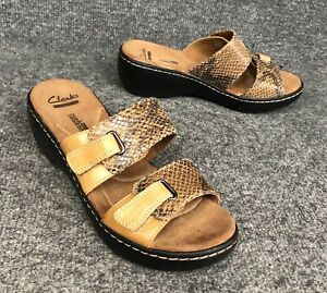Clarks Collection Snake Print Soft