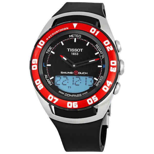 Tissot Sailing Touch Black Dial Men's Watch T0564202705100