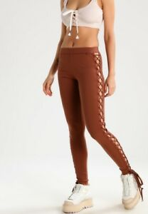 8f002830805c Image is loading NWT-Puma-Fenty-Rihanna-Womens-Leggings-XS-Brown-