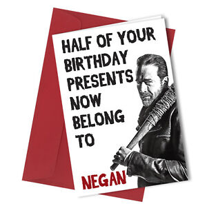 265 greetings card comedy rude funny joke humour birthday negan image is loading 265 greetings card comedy rude funny joke humour m4hsunfo