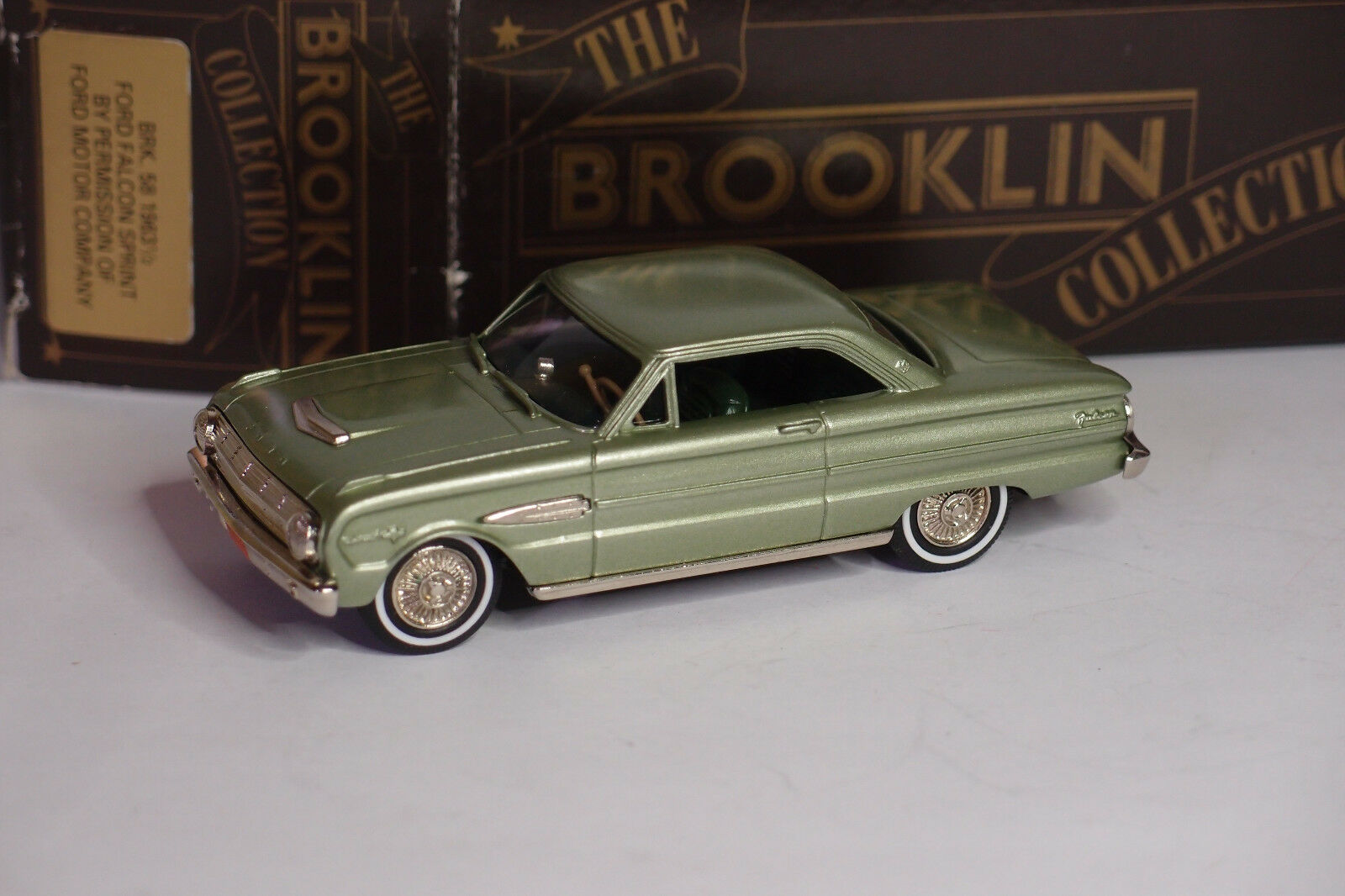 buon prezzo BROOKLIN BRK 58 1963 1 2 FORD FALCON SPRINT 1 1 1 43  grande vendita
