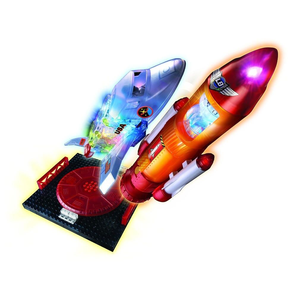 Lite Brix Building System - Star Shuttle and Launcher, Cra-Z-Art