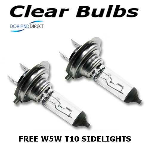 H7 100w Clear Standard Xenon Car Headlight Bulbs 12v W5W Sidelights AB 499