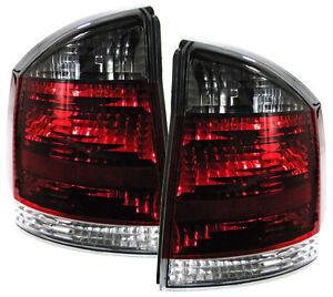 Vidrio-Transparente-LUCES-TRASERAS-PARA-OPEL-VECTRA-C-Limo-rojo-Negro
