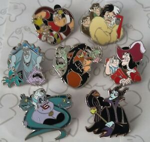 Villains-and-Sidekicks-Mini-Booster-Disney-Trading-Pin-Make-a-Set-Lot