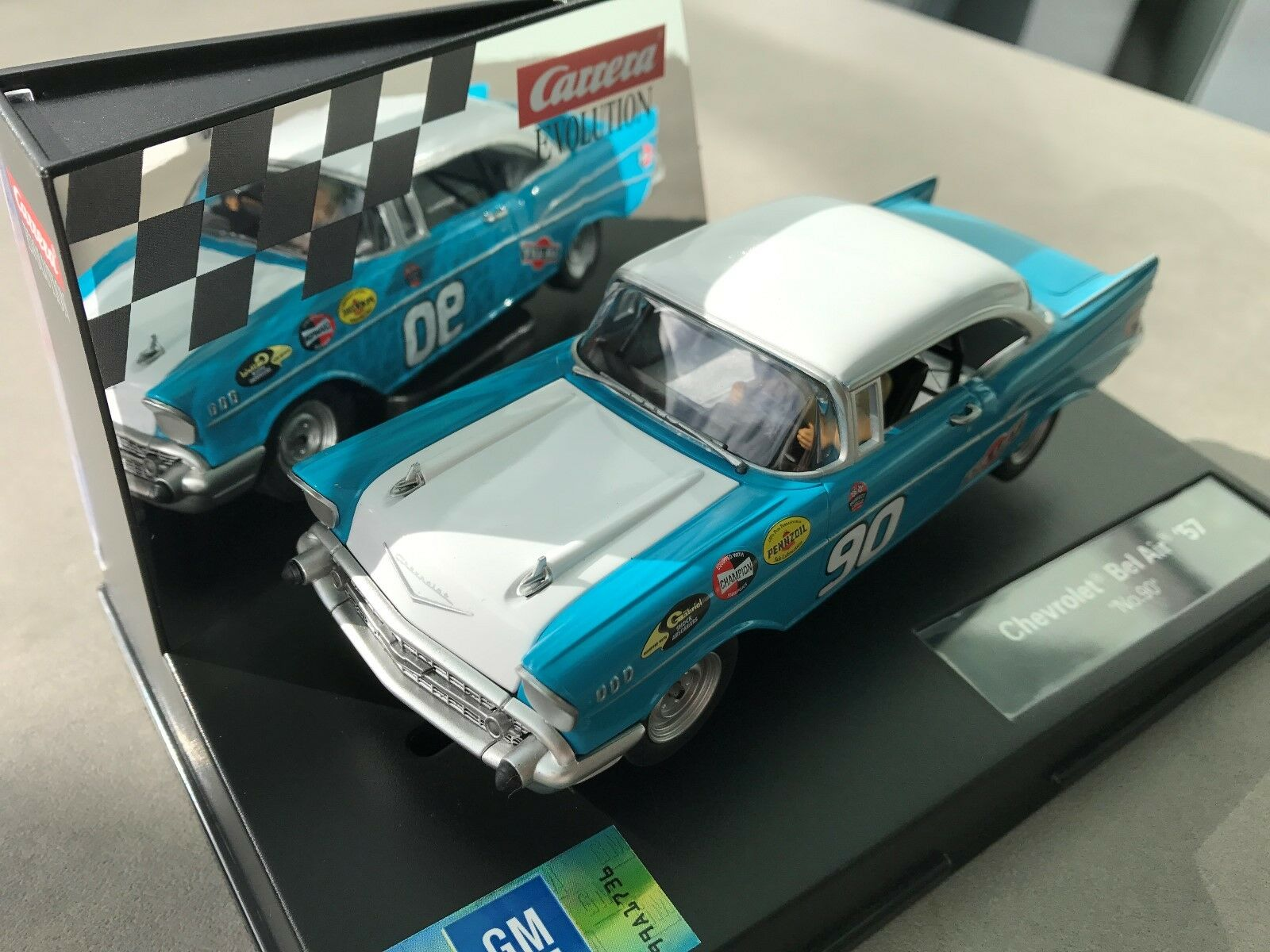 Carrera Evolution 27555 Chevrolet Bel Air '57   no. 90   NIP