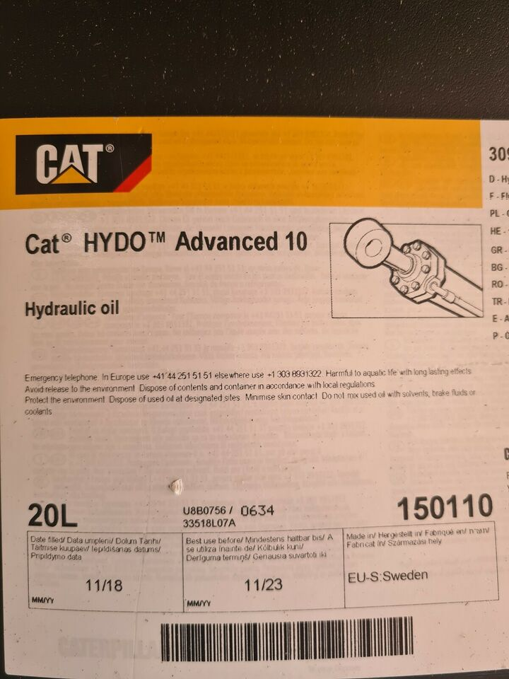 Hydraulikolie, Cat