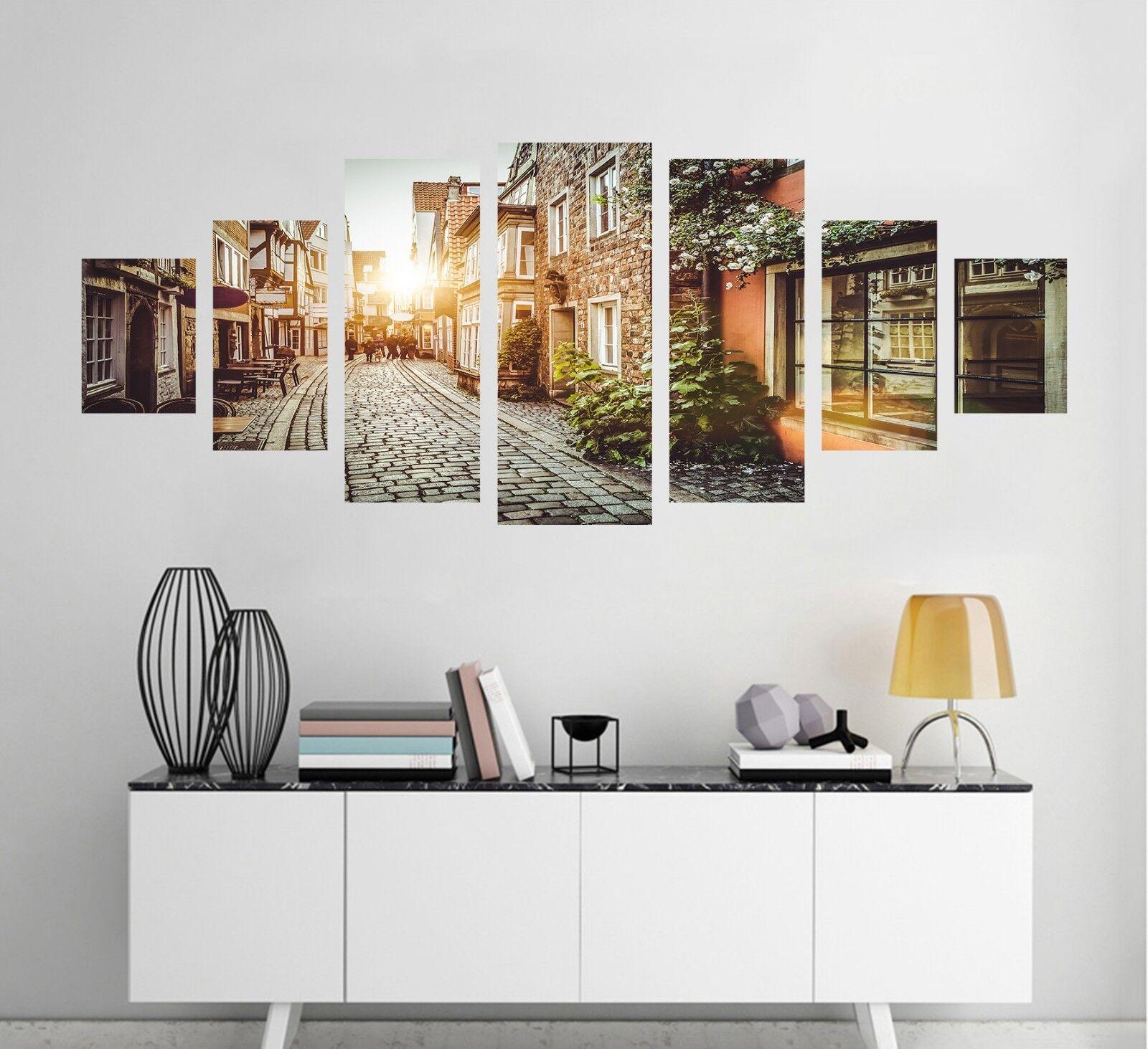 3D City Sunlight 58 Unframed Print Wall Paper Decal Wall Deco Indoor AJ Wall