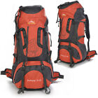 Large Waterproof 80L Outdoor Sports Travel Backpack Hiking Climbing Bag Rucksack