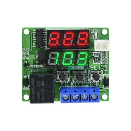 DC 12V Relay Dual LED Digital Thermostat Temperature Control Switch Sensor